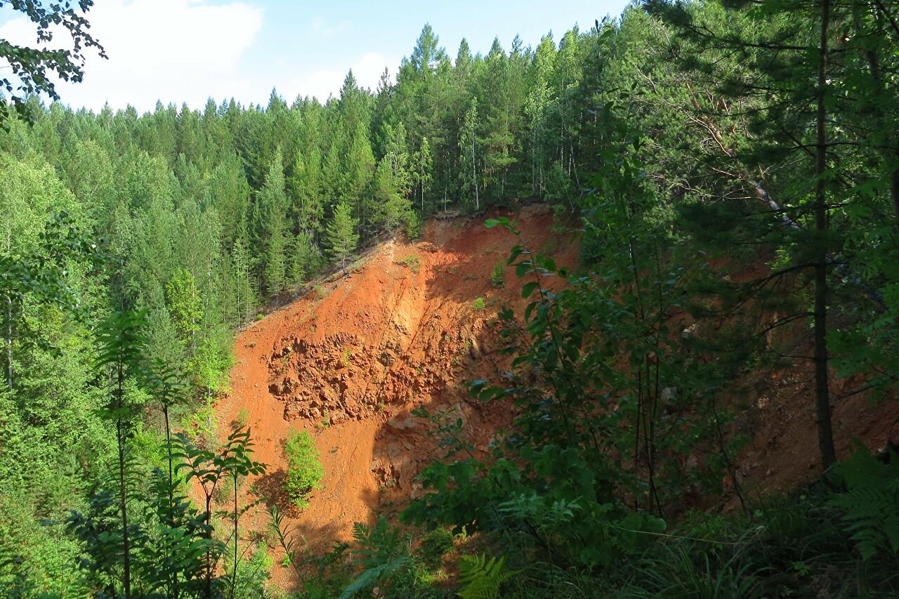 Copper mines of Kirovgrad, Novo-Ezhovsky mine